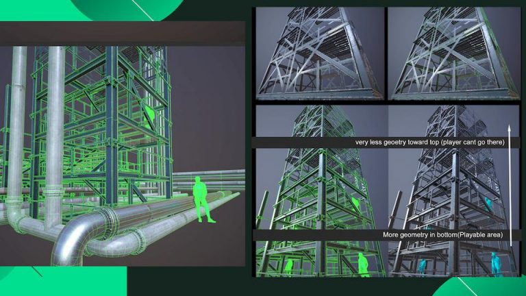 3d images of chemical pipeline works by augmented reality company