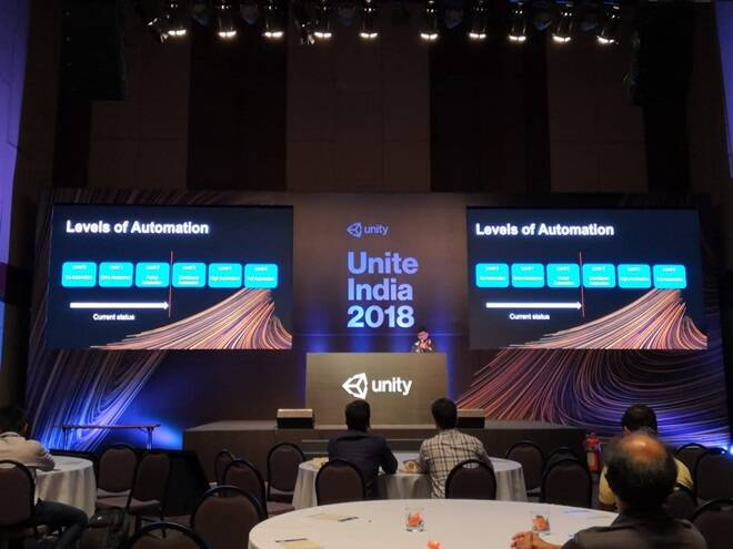Unite India 2018 participation by tiltlabs